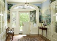 Entryway with Dutch Doors - Front Entry Ideas - 18 ...