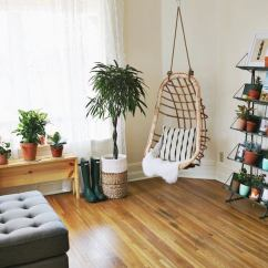 Hanging Chair In Living Room Posture And Ottoman Beige Paint 19 Beautiful Rooms Bob Vila