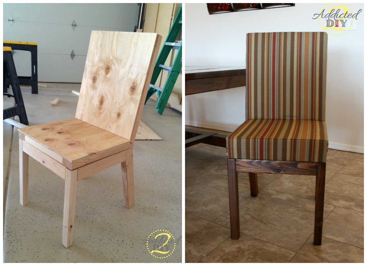 Diy Dining Chairs Diy Parsons Dining Chair Diy Chairs 11 Ways To Build