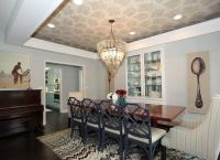 Wallpapered Tray Ceiling - Wallpapered Rooms - 12 Photos ...