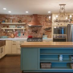 Brick Backsplash In Kitchen Stainless Steel Prep Table Exposed 14 Reasons To Love The Look Bob Vila
