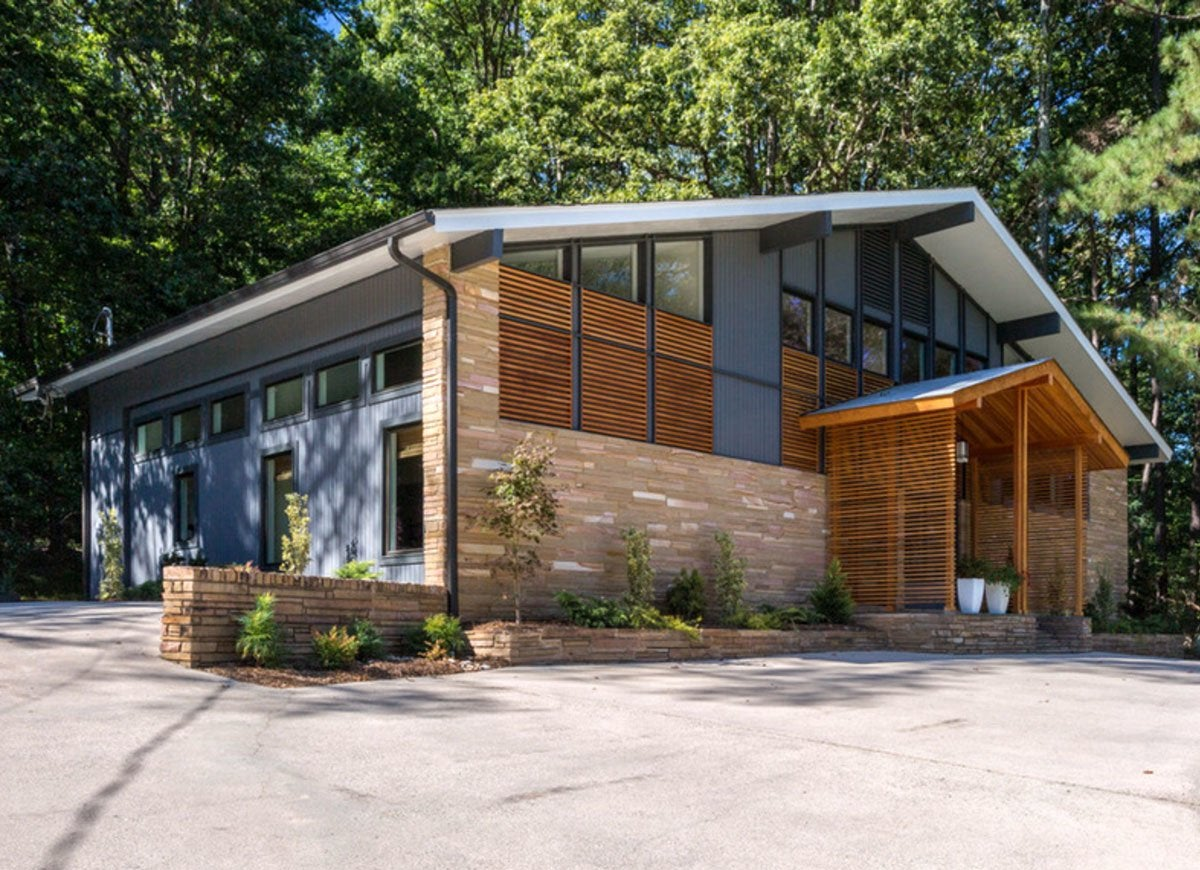 Mid Century Modern House Makeover