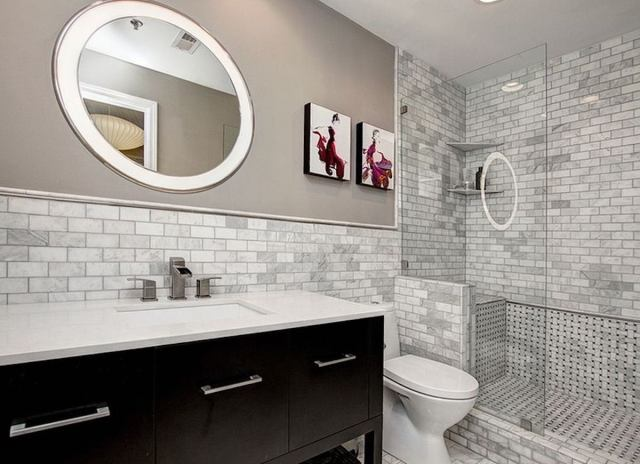 Subway tile brick