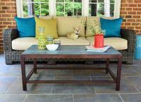 DIY Outdoor Coffee Table - DIY Patio Table - 15 Easy Ways ...