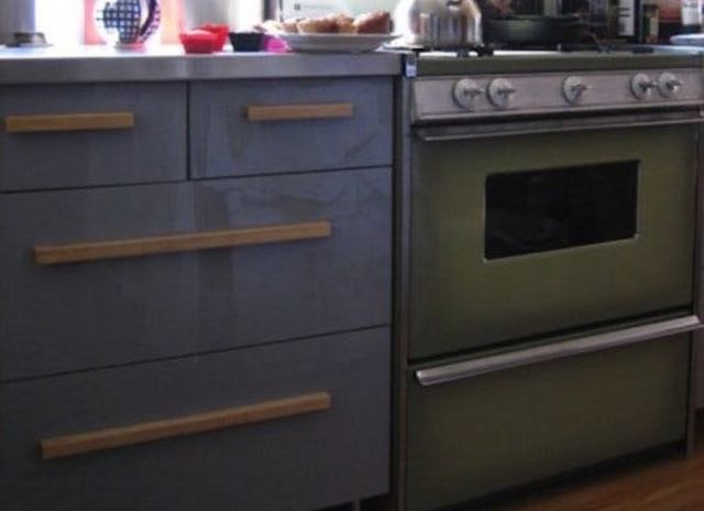 Avocado green oven