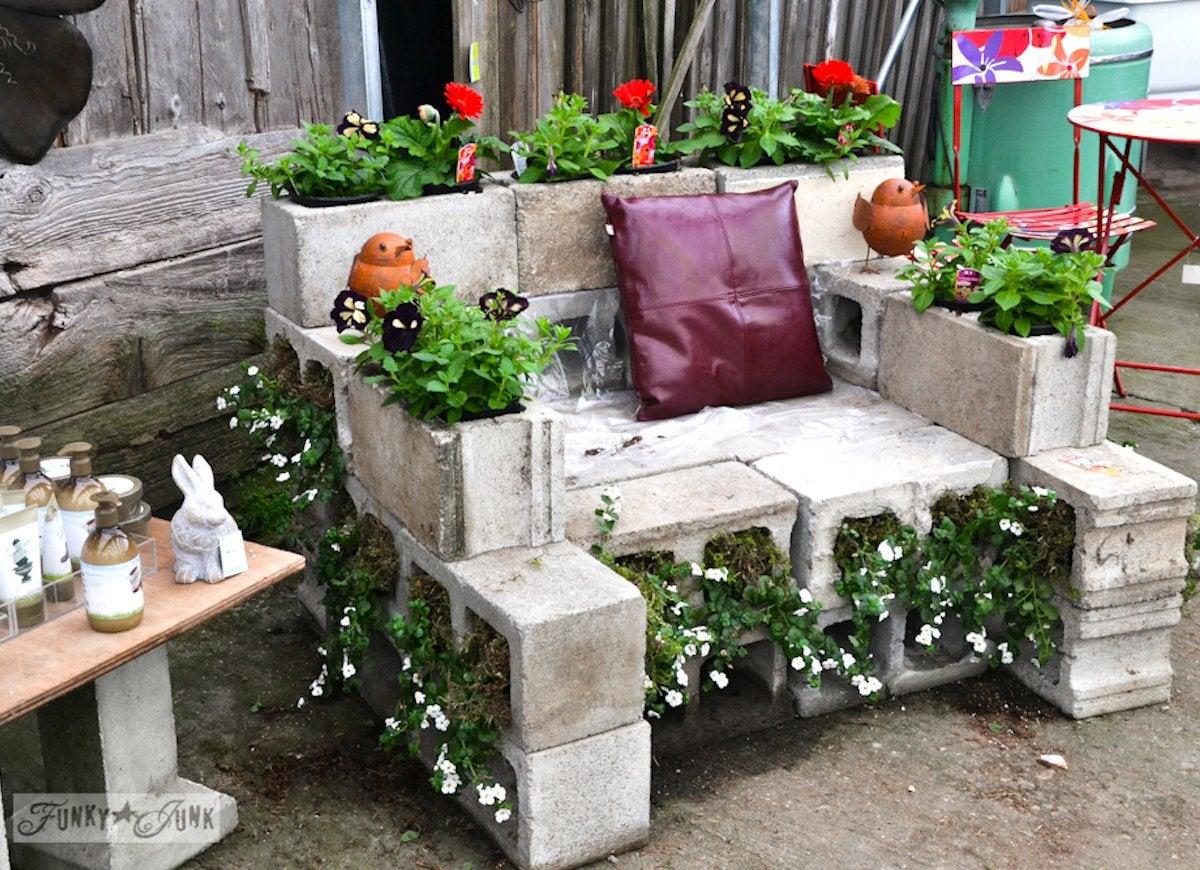 DIY Cinder Block Garden Ideas