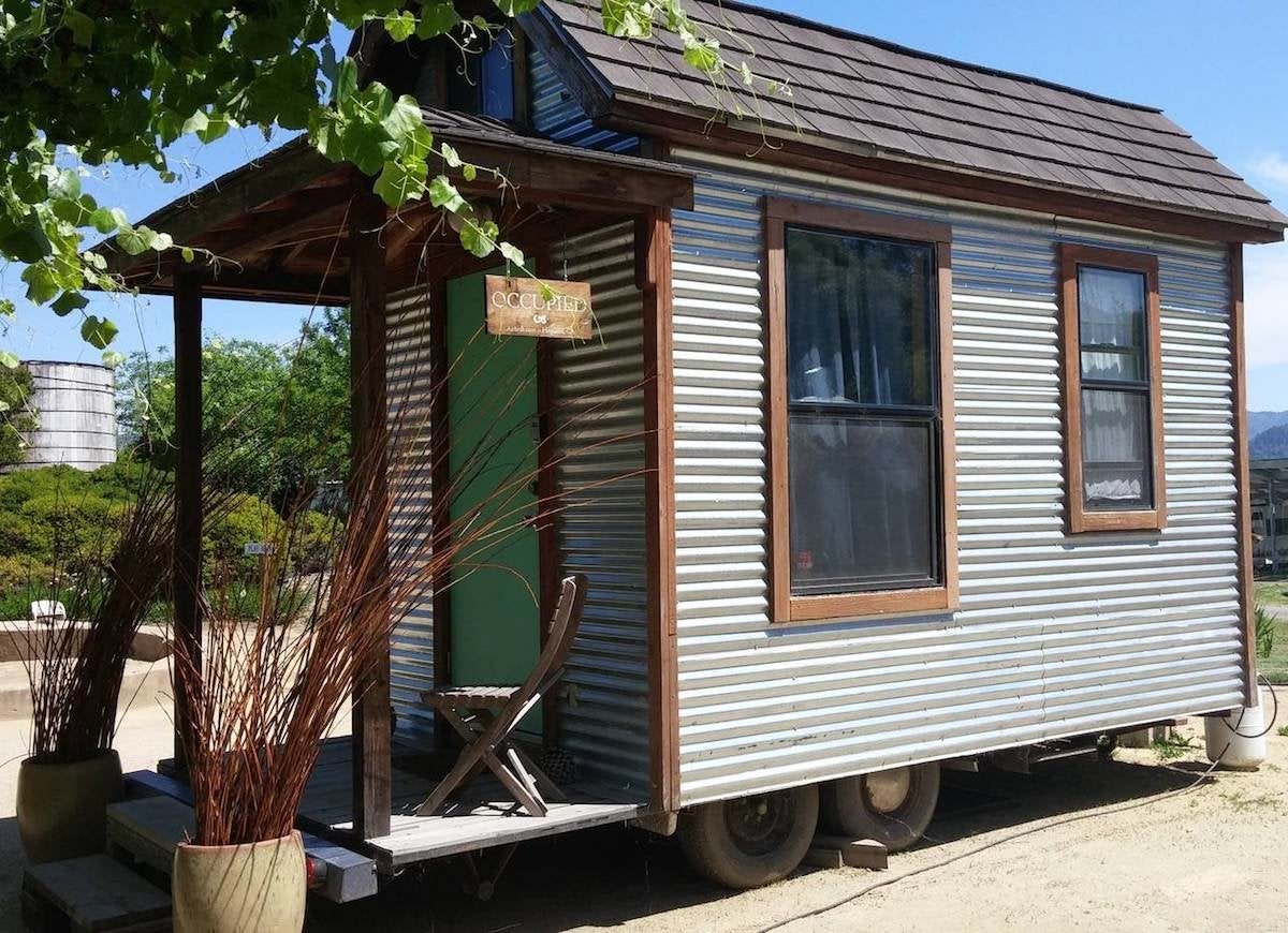 Tiny Eco House - Houses Wheels Love Bob Vila