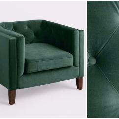 Teal Club Chair Zebra Dining Covers Cheap Armchairs 15 Options Under 500 Bob Vila Green Velvet