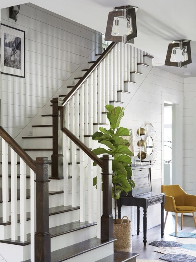 Shiplap Designs 17 Ways To Use Shiplap In Your Home Bob Vila   Cape Cod Staircase Designs   Raised Bungalow Deck   Layered   Interior   Veranda Step   Stair