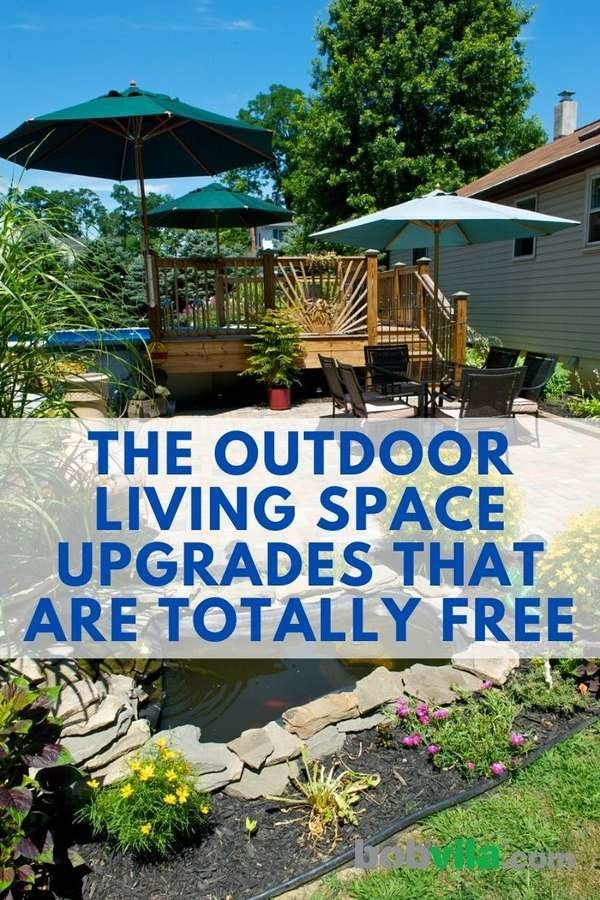 Cool Backyard Ideas 19 Free Upgrades For Your Outdoor Living Room Bob Vila