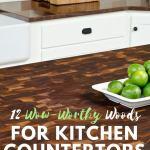 12 Wow Worthy Woods For Kitchen Countertops Bob Vila