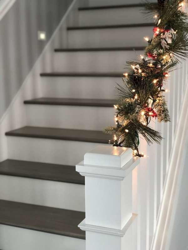 Christmas Decor For Stairs 15 Festive Diy Ideas Bob Vila