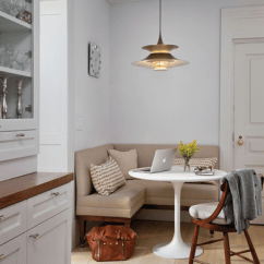 Kitchen Banquette Miniature Seating Ideas Trending Now Bob Vila Alcoves Bay Windows And Unused Corners Are All Good Spots For A Upholstered Benches Simple Pedestal Table Transform This Cozy Corner Into