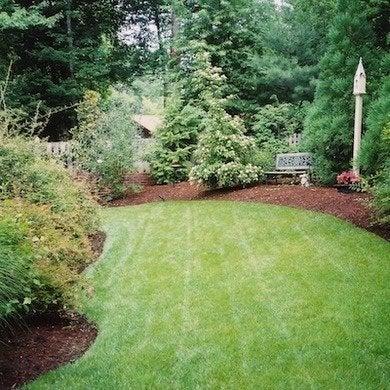 mulch - backyard makeovers 7