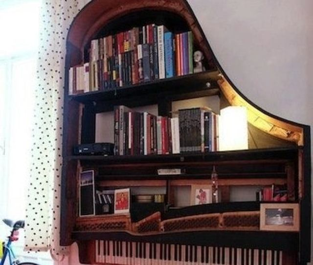 How About A Distinctive Wall Mounted Shelving Unit Books Candles Family Photos And Even A Lamp Populate The Shelves Of
