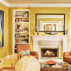 Yellow Paint Ideas For Living Room Fireplaces Pictures Bob Vila Rooms Can Be Welcoming Embracing And Even Sophisticated Both Formal Family Style Settings Reports Color Consultant Barbara Jacobs