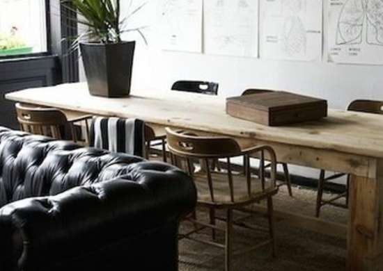 places to borrow tables and chairs sitting on chair abdominal exercises 10 alternatives a formal dining room bob vila farm table expands the utility of once vacant living real estate not only increasing overall function but also making adjacent conversation