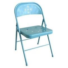 Blue Metal Folding Chairs Chair By Regina Spektor Best 12 Versatile Options Bob Vila