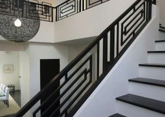 Staircase Railing 14 Ideas To Elevate Your Home Design Bob Vila   Simple House Ladder Design   Space Saving Staircase   Easy   Outside   All In House   Person
