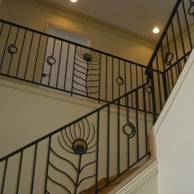 Staircase Railing 14 Ideas To Elevate Your Home Design Bob Vila | Stair Railing Designs Interior | Exterior | Creative | Antique | Scandinavian | Rod Iron