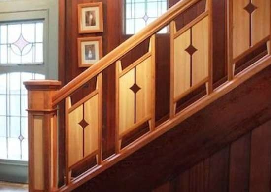 Staircase Railing 14 Ideas To Elevate Your Home Design Bob Vila   Best Stair Railing Design   Stainless   Outside   Staircase   Simple   Handrail