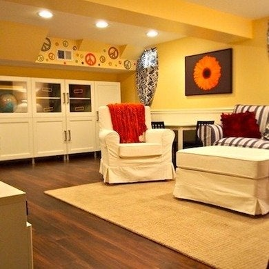 Special needs basement makeover