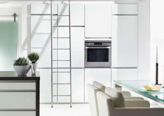 Library Ladders In Home Design 13 Inspiring Examples Bob Vila   Ladder Design For Home   Decor   Space Saving   Room   Tiny House   Italian
