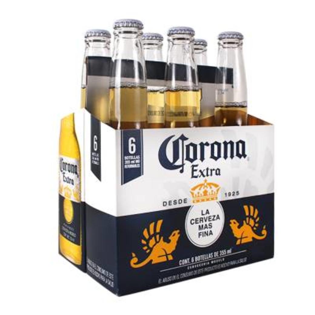 6x cerveza corona extra