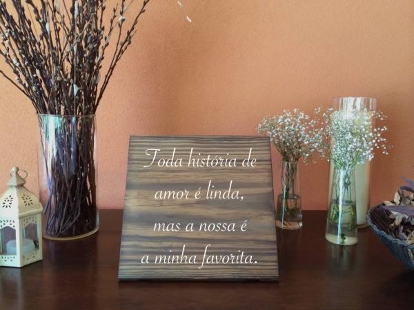 As 12 frases que voc pode usar na plaquinha do casamento