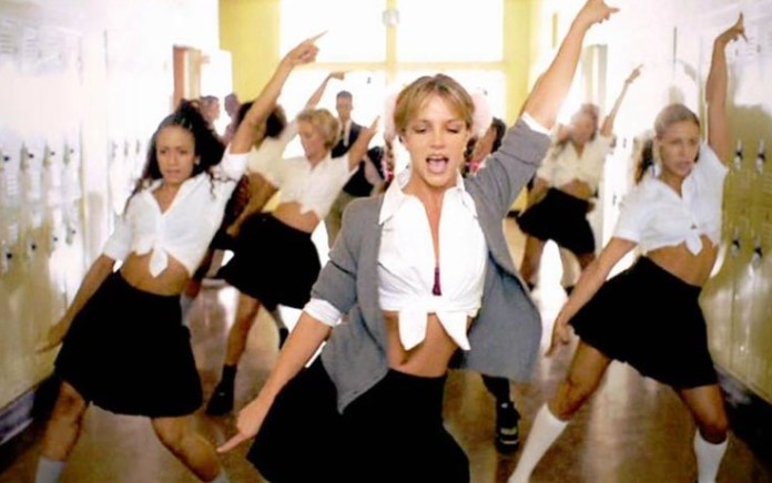 BRITNEY SPEARS THE ZONE MUSEUM BABY ONE MORE TIME