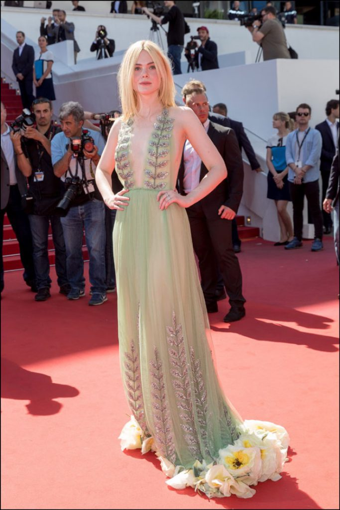 Looks of celebrities at Cannes.