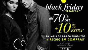 3aec3db54 Black Friday na Shop2Gether + cupom de desconto de 10% extra!