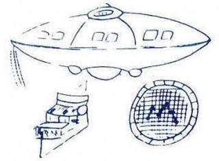 Desenhos feitos pela testemunha