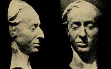 A máscara mortuária de Chopin