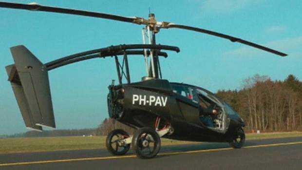 NETHERLANDS-CAR-PLANE-O