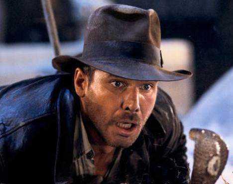 Indiana Jones sofria de herpetofobia