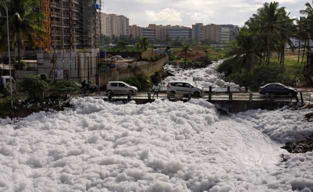 Bellandur-toxic-foam