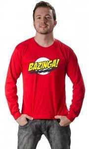 Camiseta Bazinga, porque você precisa dizer ao mundo quem você acha que é. Ou pior, quem você gostaria de ser e não é.