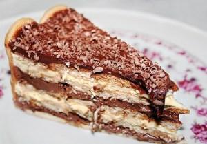 Pavê de chocolate da Catia