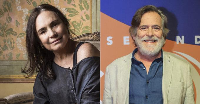 """José de Abreu volta a """"tretar"""" com Regina Duarte e diz que tem medo da colega"""