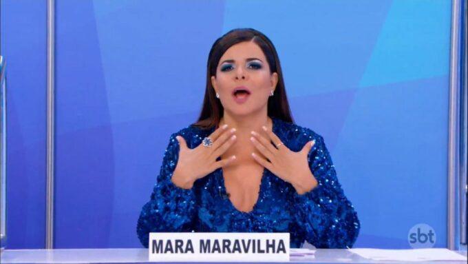 Mara Maravilha desmente boatos de briga e pede a Silvio Santos para voltar para o Programa do Ratinho