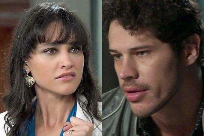 Débora Nascimento fica cara a cara com José Loreto e perde o controle na festa da filha, fora da Globo