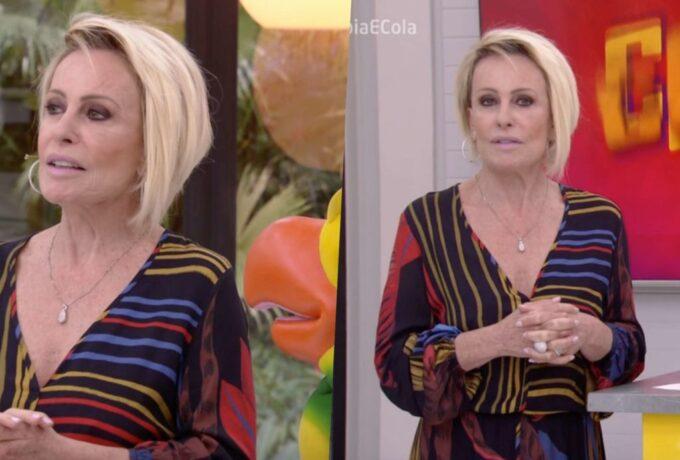 """Ao vivo na Globo e pressionada, Ana Maria Braga chama intervalo às pressas: """"Xi Ana Maria vai levar bronca"""""""