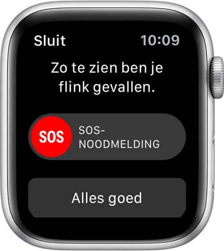 Fusion de valdetectie d'Apple Watch.