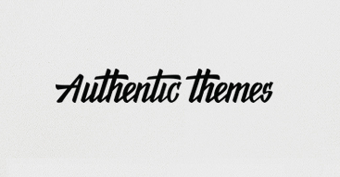 Authentic Themes: Minimal and Content-Centric Themes
