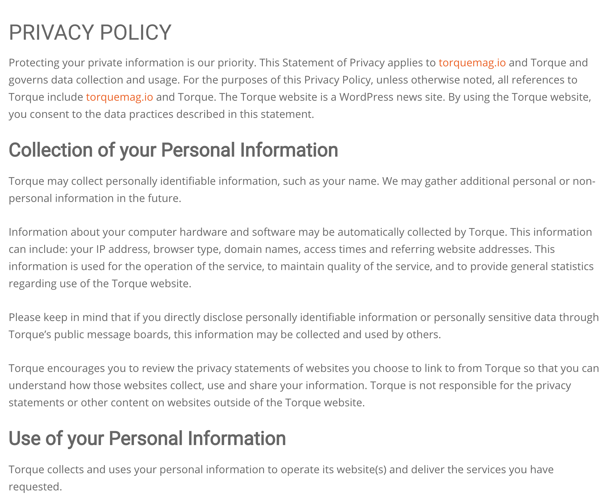 A Beginners Guide to Privacy Policies