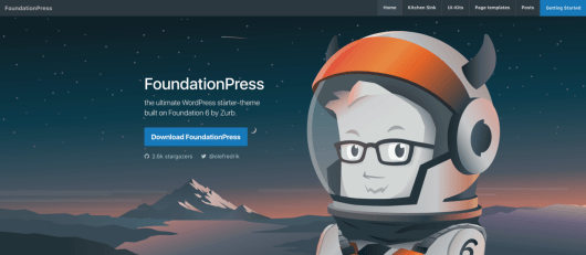 The FoundationPress website.