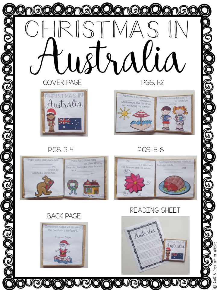 Christmas In Australia Book.Christmas In Australia Christmas Around The World Paper Bag Book