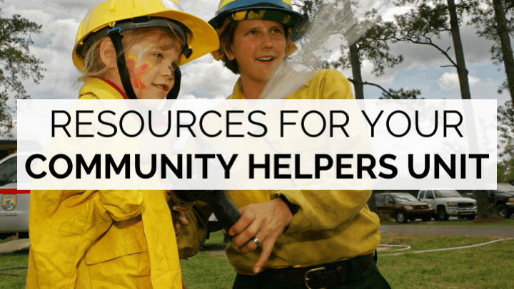 Ideas and resources for teaching community helpers