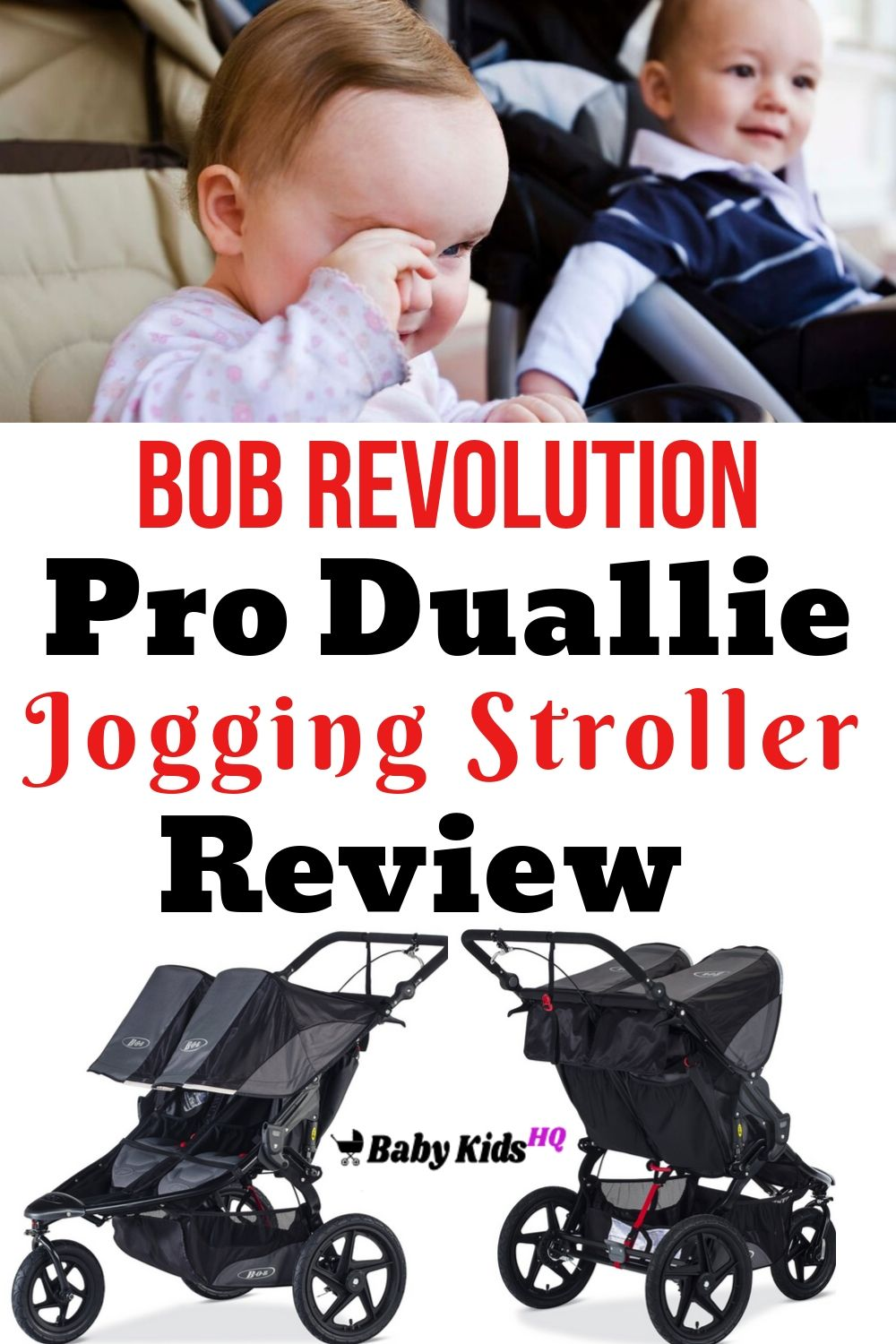If you are looking for a state-of-the-art stroller which allows you to move around easily with two kids at a time, the BOB Revolution Pro Duallie Jogging Stroller has been designed especially for you.